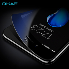 High Quality Full Screen Tempered Glass Carbon Fiber Anti Blue Light Screen Protector for Iphone 6 6S 7 /Plus