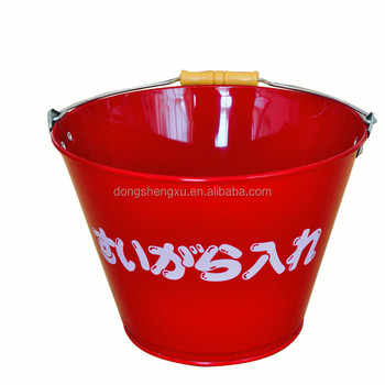 Metal Fire Buckets 10Liters for house use