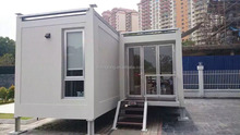 Hotsale Flat packed container house, modular house, easy installing prefab house,