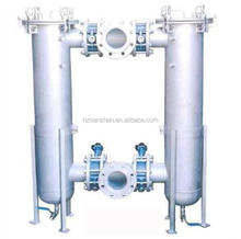 Duplex Liquid Bag filter Housing for water, beverage, chemical and petroleum products