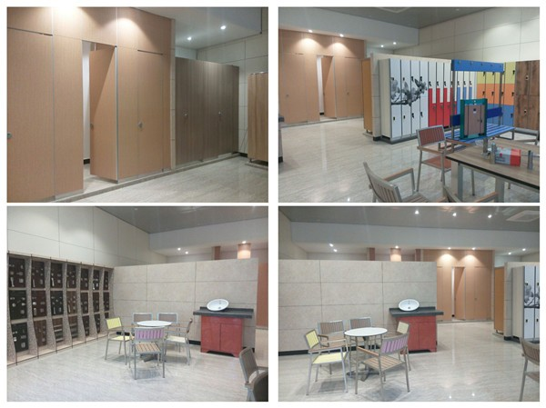 Aogao 77 series HPL board public toilet cubicle partition