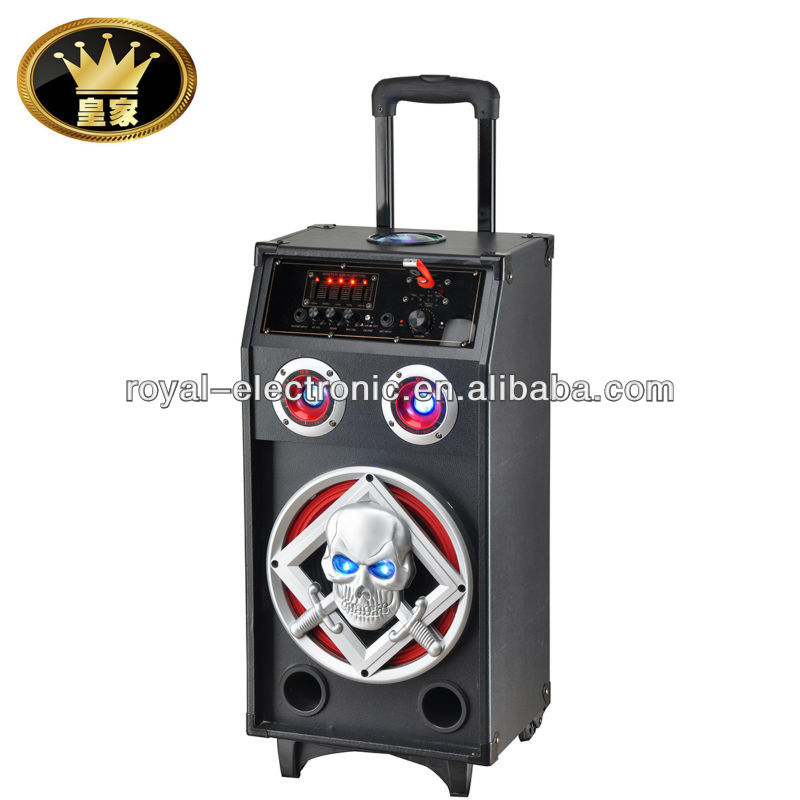 "active speaker outdoor usb 8"" speaker active portable pa system"