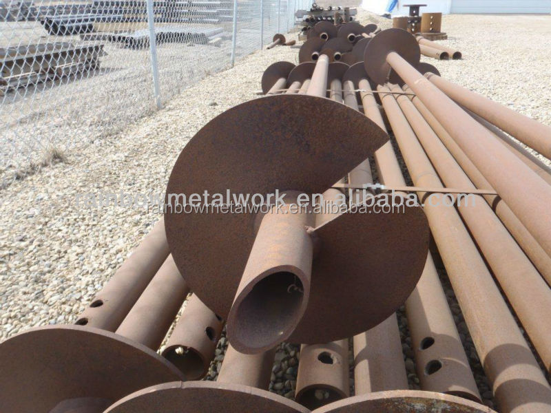 Screw Pile Foundations, Helical Piling