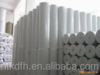 150gsm 100% pp spunbond white nonwoven fabrics used in artificial grass for football field