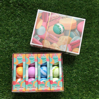 Macaron Golf Ball Multi Mark, 3 Layers Golf Ball Wholesale by Fantom