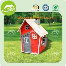 wooden cubby house, kids solid wood play house