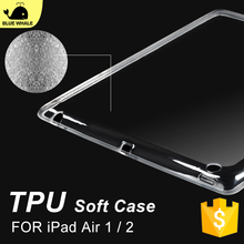 Wholesale Clear Blank Case For Ipad Air2, For Shockproof Tpu Ipad Air 2 Cover, For Ultra Thin Transparent Ipad Air 2 Case