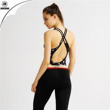 Women Sport Yoga Set For Running Gym Sportwear Suit Girl Ladies Elastic Waist Yoga Suit Fitness Workout