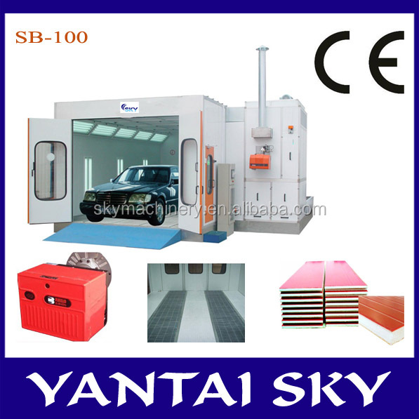 Yantai Sky Machinery High Quality and CE Certified SB-100 post Preparation for Painting