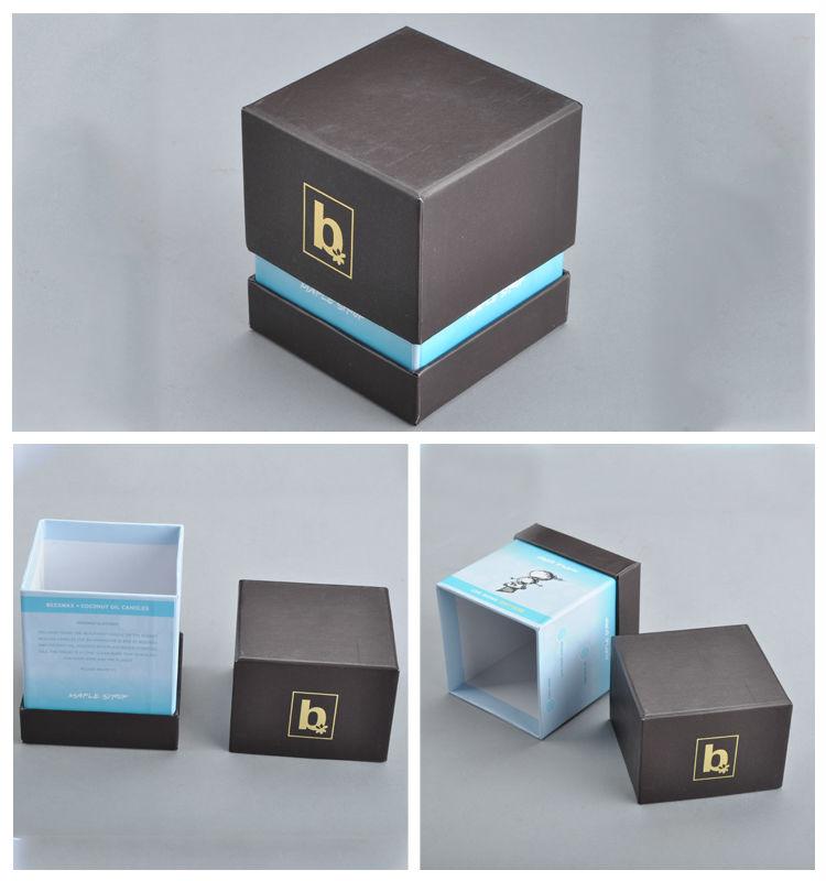2014 custom small product packaging box perfume box packaging