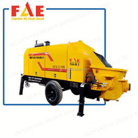 used stationary concrete pump for sale