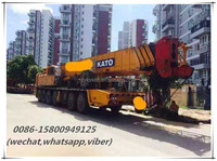 second hand 120ton japan made mobile crane
