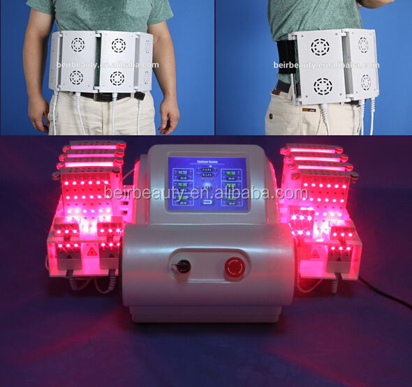 ultrasonic liposuction machine / 4 wavelength 528 diodes lipo laser / non-surgical liposuction machines