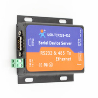 USR-TCP232-410 Serial to Ethernet RJ45 Converter RS232 RS485 to TCP IP Server