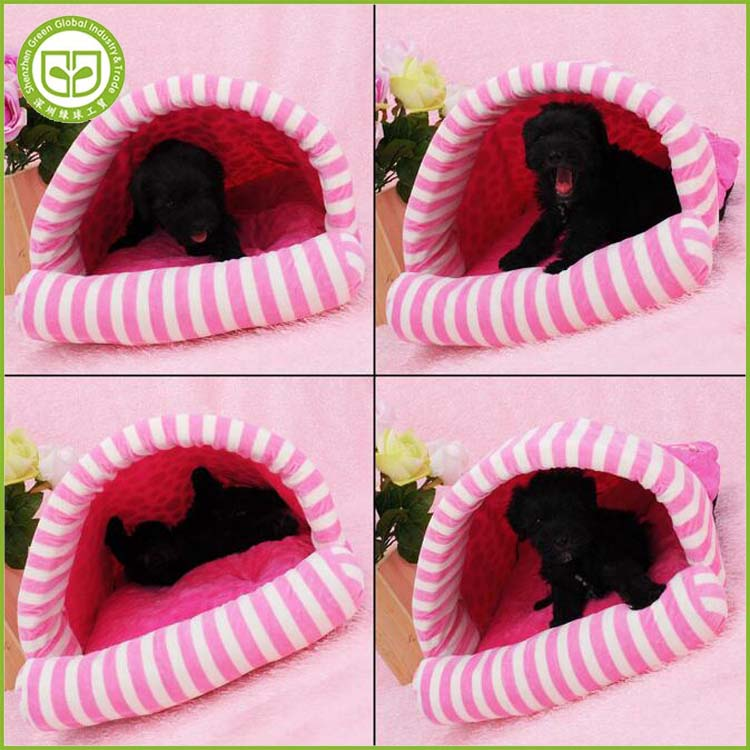 PDBE105 Velvet sleeping bag dog bed Suitable for cat/small dog Can unpick and wash