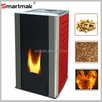 Domestic automatic feeding portable wood pellet stove, wood biomass pellet stove,pellet burner fireplace
