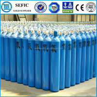 Different Sizes and Colors Oxygen Welding Gas Bottle Used Oxygen Cylinders Price