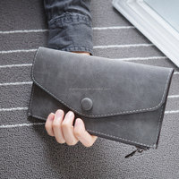 New fashion smart leather funky wallet for lady