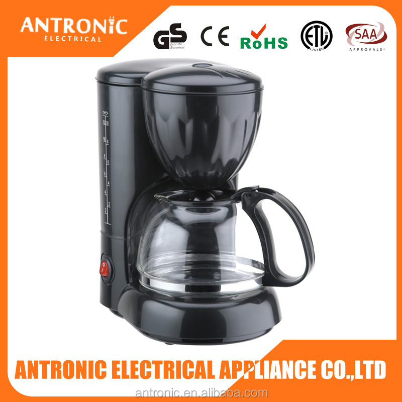 Promotion cheap price 1.2L 12 cups electric drip coffee maker coffee cooking maker