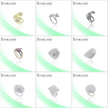 Starland mermaid Factory Price Hot Sell Silver Ring Jewelry