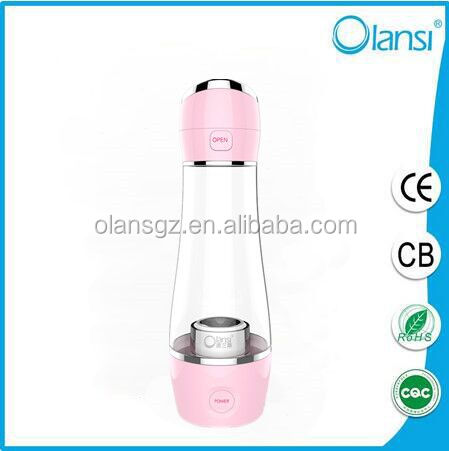 Healthcare product Smart touch energy nano water bottle hydrogen water maker