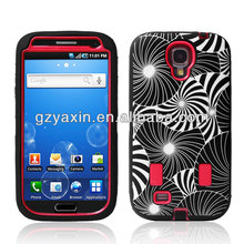Newest Wholesale Silicon Case For Samsung Galaxy S4 I9500,Rock Hard Case For Samsung Galaxy S4 I9500