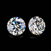 loose synthetic moissanite price 4mm 5mm 6mm 8mm