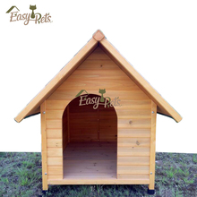 Large Outdoor Heavy Duty Wooden Kennel Fashion Design Wholesale Pop Up Dog House