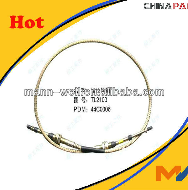 Liugong parts,44C0006 TL2100 Push-pull soft shaft,CLG855,CLG856,CLG835,CLG842,push-pull cable,hose,flexible shaft,flexible axle