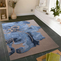 Chinese wool and silk hand made rugs
