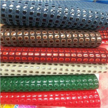 pu flocking leathe for shoe material