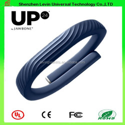 Intelligent Health Life records keep Sports Sleep Pedometer High Quality Jawbone 24UP Bracelet