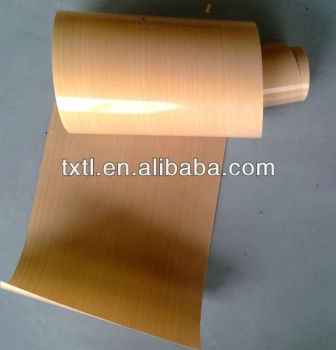 Heat resistant PTFE Fiberglass PTFE Sheet Conveying Belt