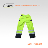 work Pants reflective with high visibility work pants
