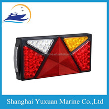 100% waterproof Multifunction LED Boat Trailer Light with E-Mark