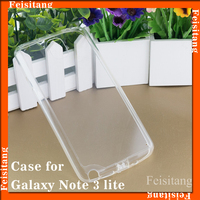 Hot selling wholesale Feisitang brand TPU case for Samsung galaxy note 3 Lite N7505 back cover case