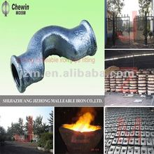 plumbing accessories,Electrical Galvanized malleable iron pipe fitting cross over