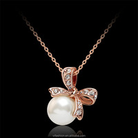 Fashion Accessories Simple Butterfly Pendant Necklace