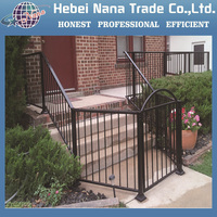 high quality wrought iron stair railing
