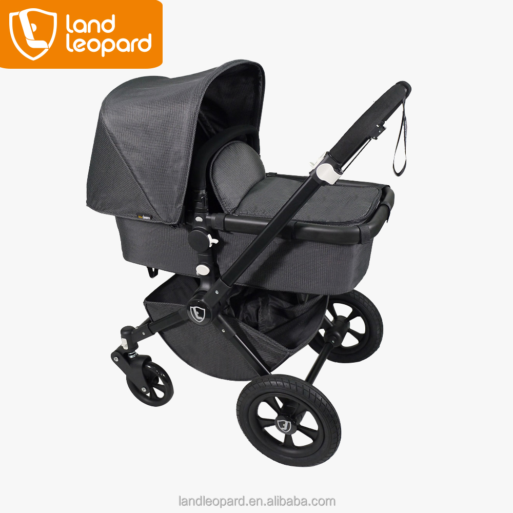 Strolling-optimized good Land Leopard baby toy pushchairs supplied with five-point adjustable harness featuring one button