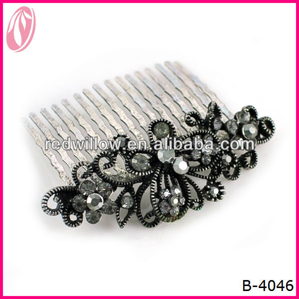 Wholesale Fine Tooth Afro Butterfly Hair Comb For Women