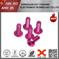 anodize aluminium screw