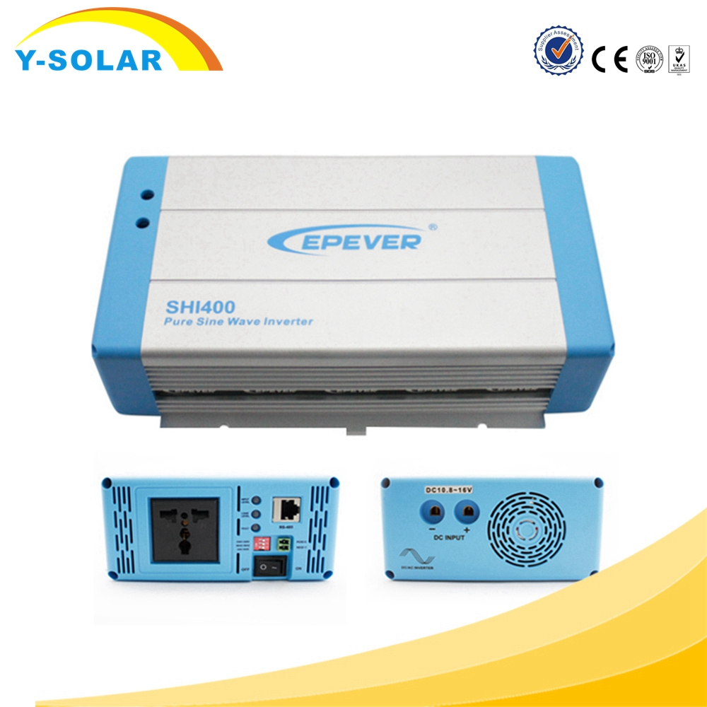 EPEVER Pure sine wave off grid tie Hybrid solar inverter for SHI-400W solar system