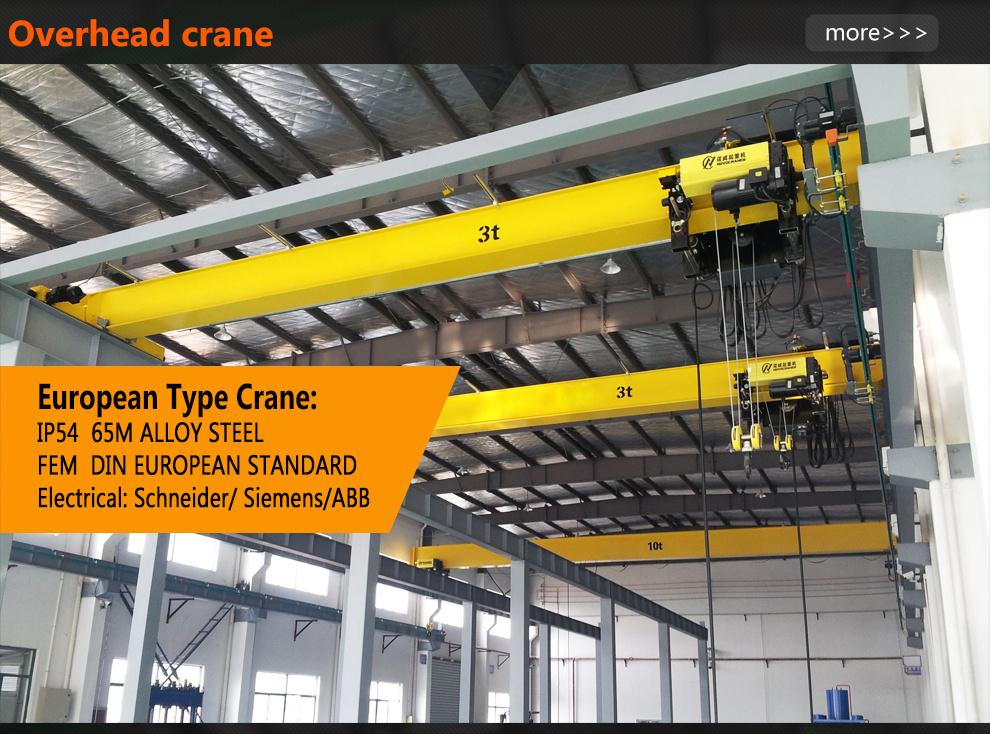 Overhead Crane Warning Horn : Ton electric motor driven single girder