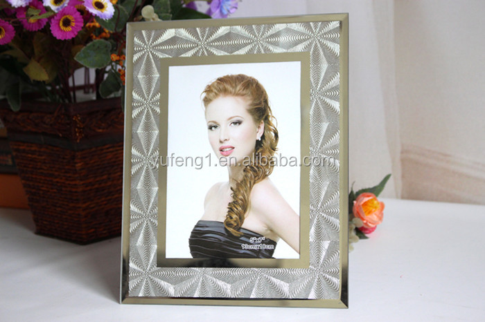 5x7in glitter exquisite texture shimmers printing glass photo frame