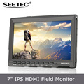 7inch HDMI monitor ST699P Zebra False colors BMPCC support 1280*800pixels Focus assist Brightness Histogram dslr focus