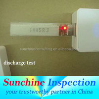 electric phone quality inspection and test fromThird party inspection company /computer adapter quality control auditing
