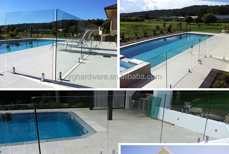 Pool Top Rail Caps Frameless Glass Pool Fence Buy
