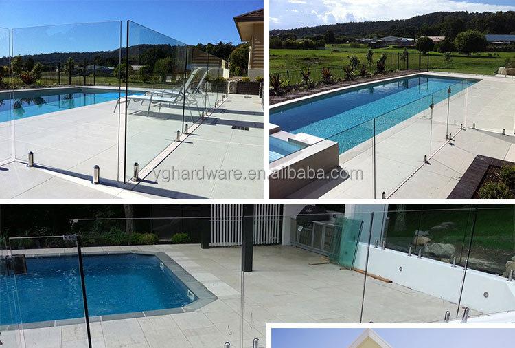 Pool Top Rail Caps Frameless Glass Pool Fence Buy