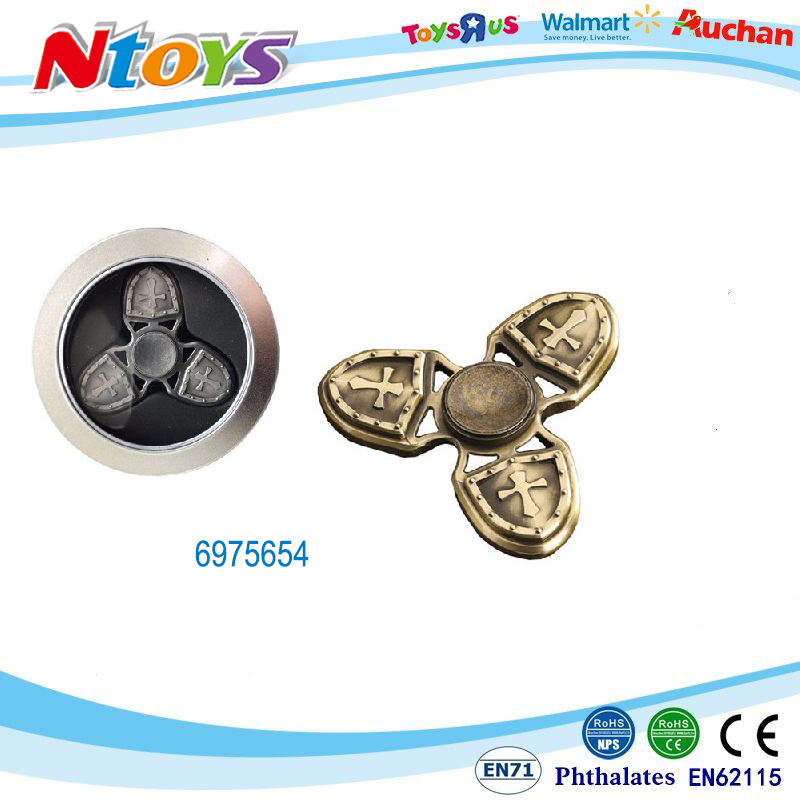 2017 New Fashion Spinner Metal Finger Spinner Toy Fidget Spinner